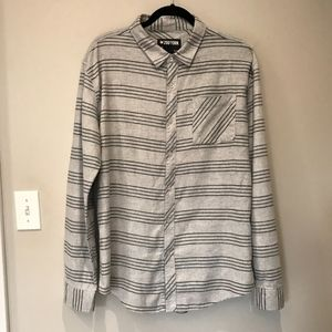 Zoo York Long Sleeve Button Down Shirt.  Size XL